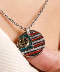 NORTH WORKS ノースワークス / OLD COIN AMERICAN FLAG PENDANT 5¢ / N-407