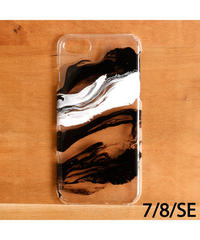 ideas and PAINTING / iPhoneケース(7/8/SE) / 78SE-blk4-2007