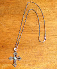 NORTH WORKS ノースワークス / 900Silver Stamp&TQ CROSS 2 ネックレス / W-030