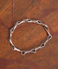 NORTH WORKS ノースワークス / 25cent TWIST CHAIN BRACELET ブレスレット / N-202