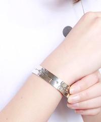 NORTH WORKS ノースワークス / Stamped 900Silver Cuff Bracelet M2 / W-005