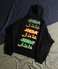 【全3色】JieDa ジエダ /  JieDa LOGO HOODIE  ロゴプリントプルオーバーパーカー / Jie-20W-CT02-B