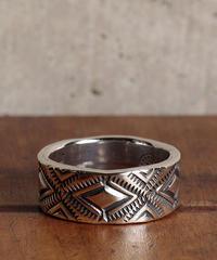 NORTH WORKS ノースワークス / 900Silver Stamp Ring Diamond リング / W-052
