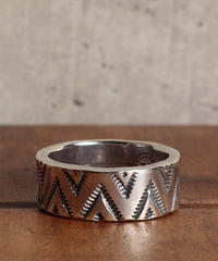 NORTH WORKS ノースワークス / 900Silver Stamp Ring TRIANGLE WAVE リング / W-050