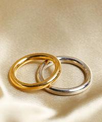 【全2色】Losau ロサウ / Hoop ring リング / lo-r003