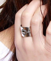 NORTH WORKS ノースワークス / 900Silver Stamp Ring 1 / W-019