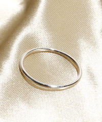 Losau ロサウ / Single line ring リング / lo-r008-silver