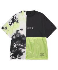 LIBERE リベーレ / Half tie dye t shirts ビッグシルエットハーフタイダイTシャツ / 201210