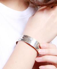 NORTH WORKS ノースワークス / Stamped 900Silver Cuff Bracelet L1 / W-001