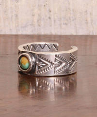 NORTH WORKS ノースワークス / NAVAJO STAMP RING/TURQUOISE TRIANGLE リング / N-224
