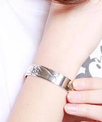 NORTH WORKS ノースワークス / Stamped 900Silver Cuff Bracelet M3 / W-006