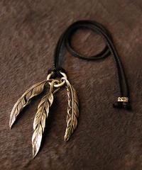HARIM ハリム / feather cotton cord ネックレス / HRP036SVC