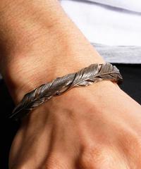 HARIM ハリム / Double Feather Bangle BRASS / HRA034BR