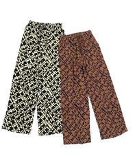 Comfort Pattern Pants〈22-220015〉