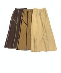 Fringe Linen Skirt〈20-330243〉
