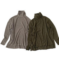 Lib Mellow Turtle knit〈20-550262〉