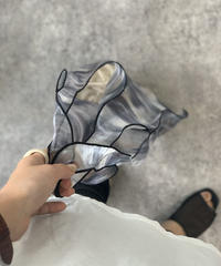 Seethrough Tiedye Bag〈20-920130〉