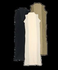【Web限定カラー】High neck Lib Dress〈21-440022〉