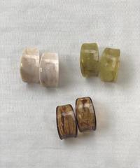 Marble Pierce Earring〈20-910044〉