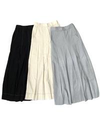 Stitch Tuck Skirt〈22-330021〉