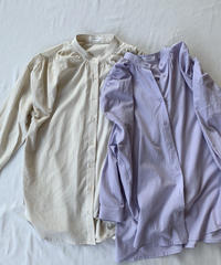 Color Tuck Blouse 〈20-770058〉