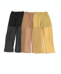 Sheer Pants〈21-220017〉