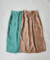 Satin Skirt〈20-330003〉