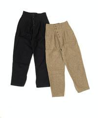 Tuck  Slit  Pants〈21-220071〉
