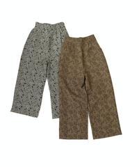 Jacquard Pants〈21-220095〉