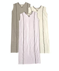 Caftan Piping One-piece〈21-440030〉