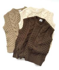 Cable Knit Vest〈20-550235〉
