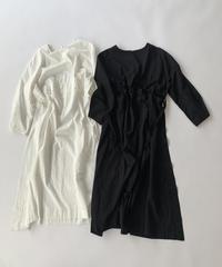 Cotton Shirring Slit OP〈20-440120〉