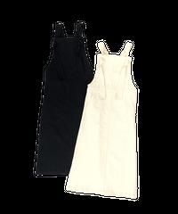 Wide Shoulder Jumper Skirt〈21-440036〉
