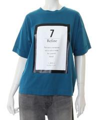 63410058 _ フレームロゴプリントTシャツ
