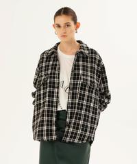 67231158 _ ツイードシャツジャケット