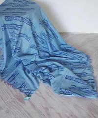 カディKOHANプリントストールクロス 藍