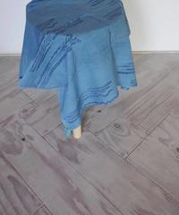 カディKOHANプリントバンダナ  藍