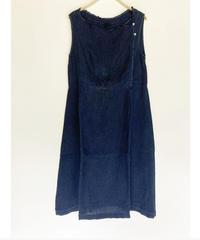 ノラふくジャンパースカート 正藍染
