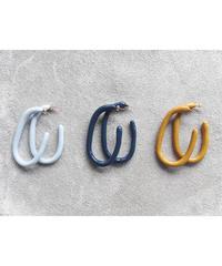 Plane Oval Earrings