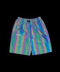 RFLCTIV Squid Ink Shorts Rainbow Reflective