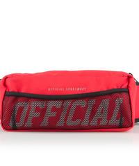 OFFICIAL MELROSE SHOULDER / HIP BAG - RED