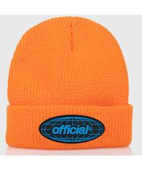 OFFICIAL WRLD Takeover Beanie (Orange)