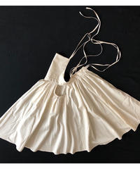 "apron dress ""JEANDREE""  /Ivory"