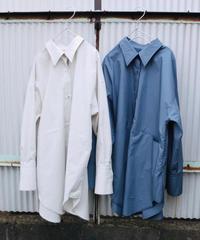 "work shirt ""DOSE"" /Smoke White/Jay Blue"