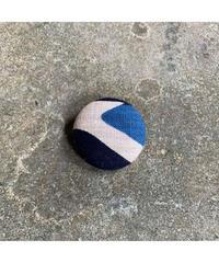 藍ブローチ #003