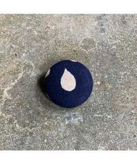 藍ブローチ #008
