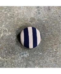藍ブローチ #007