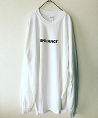 ENHANCE ロゴロンT ホワイト XL
