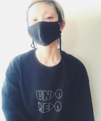 ・受注生産・ホソヒモマスク (ホワイト/オフホワイト/グレー/ブラック)
