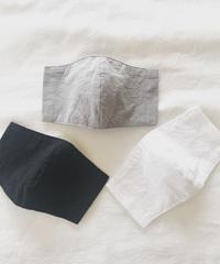 ・受注生産・ホソヒモマスク本体のみ  (ホワイト/オフホワイト/グレー/ブラック)